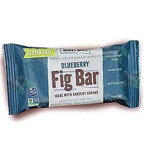 Nature's Bakery Gluten-Free Fig Bars, Blueberry: Amazon ...