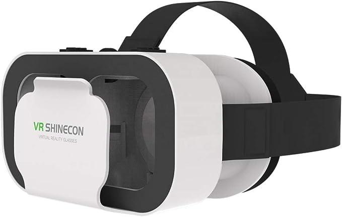 NINI VR Gafas 3D de Realidad Virtual Head-montado vidrios Caja de ...