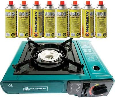 Ker Stove & Portable Gas Cocina Gas C 8 Botanas BU Botellas ...