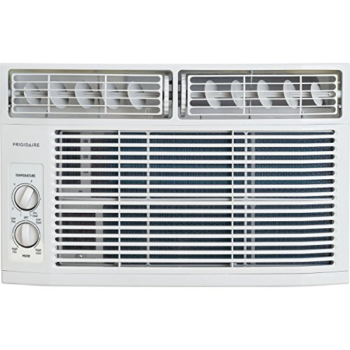 (Frigidaire FFRA0611R1 6,000 BTU 115V Window-Mounted Mini-Compact Air Conditioner with Mechanical Controls)