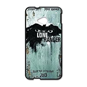 HTC One M7 Cell Phone Case Black The Lone Ranger SUX_164074