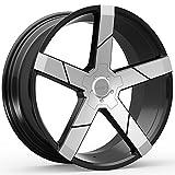 5 lug 22 inch rims - Kronik GHOST 402 Gloss Black/Machined Wheel with Machined Finish (22x8.5