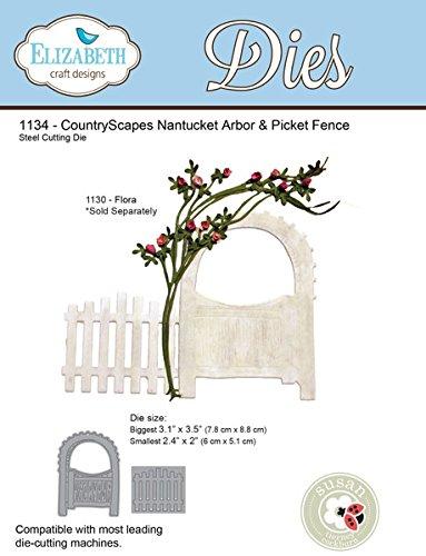 CS Nanucket Arbor & Picket Fence--1134 by Elizabeth Craft Designs