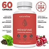 Mens Multivitamin :: MensFine ll Supplement with Saw Palmetto, B6 Complex High Potency, and Chromium|| Also Contains Biotin for Men ll MensFine by NatureFine For Sale