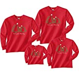 Christmas Trees Red Shirt - Toddler 2T, L/S (391)