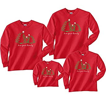 Amazon Com Christmas Trees Red Shirt Baby 6m L S 391