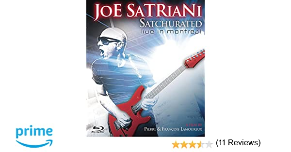Joe Satriani : Satchurated Live in Montreal Alemania Blu-ray: Amazon.es: Joe Satriani, Jeff Campitelli, Galen Henson, Mike Keneally, Allen Whitman, ...