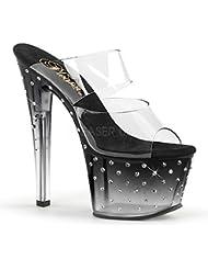 Pleaser STARDUST-702T Exotic Dancer, Clubwear, Stripper 7 Sexy Slip on Platform.