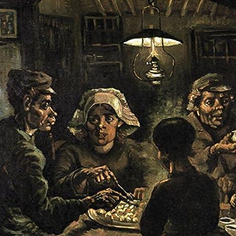 1art1® Vincent Van Gogh - Los Comedores De Patatas, 1885 Póster ...