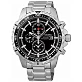 Seiko Men's SSC299P1 Solar Black Watch