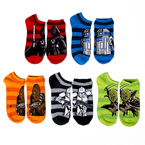 Star Wars Little Boys Socks