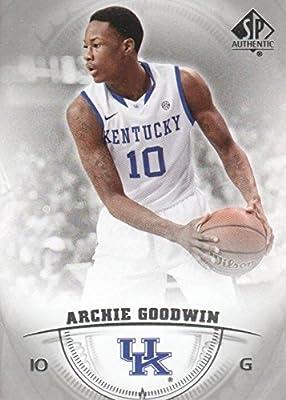 Archie Goodwin Basketball Card (Kentucky Wildcats) 2013 Upper Deck SP #21