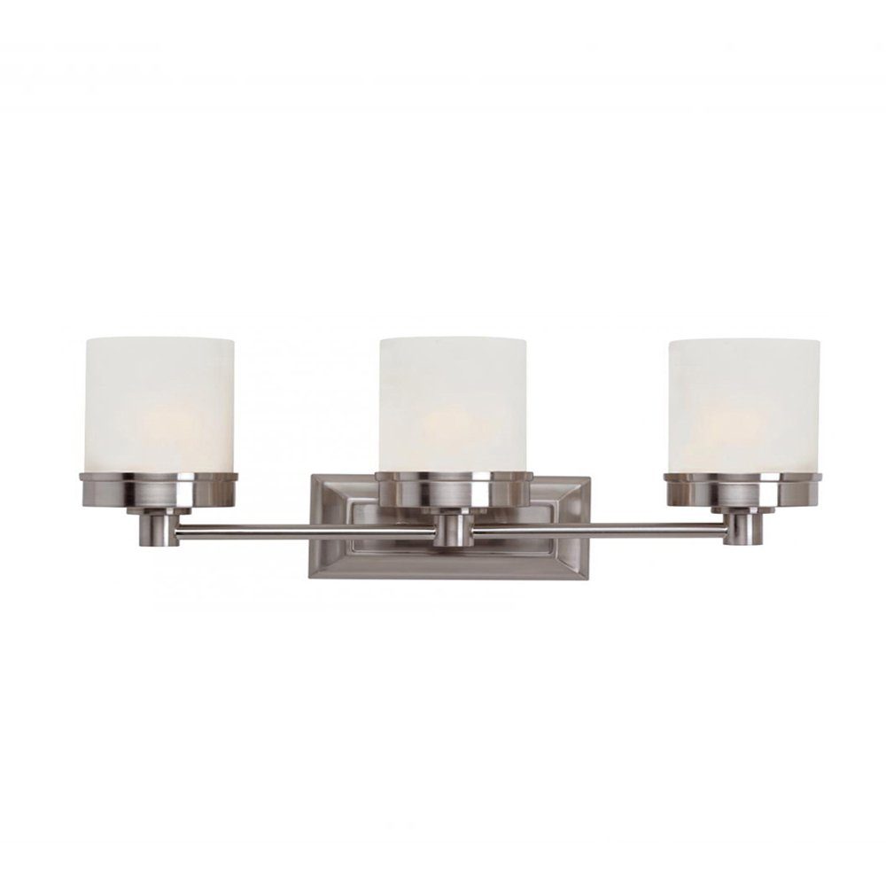 Trans Globe Lighting 70333 BN Indoor Fusion 20' Vanity Bar, Brushed Nickel Transglobe Lighting