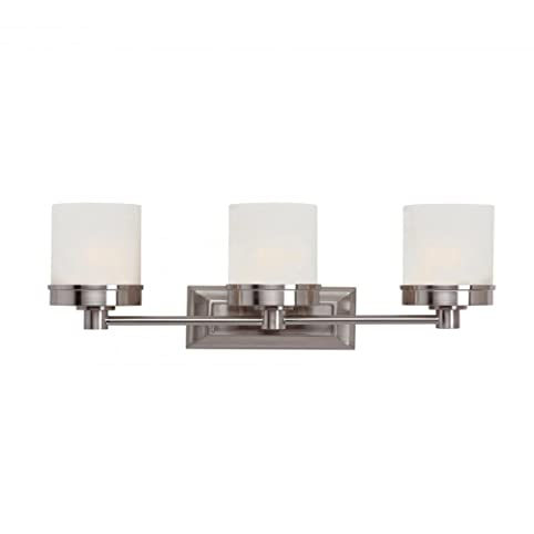 Trans globe lighting 70333 bn indoor fusion 20 vanity bar brushed nickel