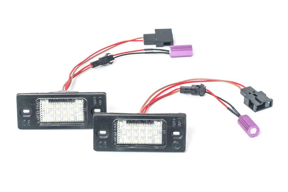 LED Kennzeichenbeleuchtung ohne Fehlermeldung mit E-Prü fzeichen Eintragungsfrei Goingfast