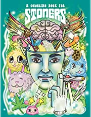 A Coloring Book For Stoners: Stress Relieving Psychedelic Art For Adults