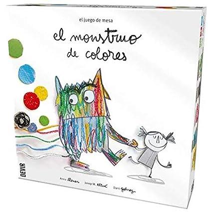 Devir - Monstruo de Colores: Amazon.es: Juguetes y juegos