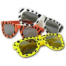Animal Print Sunglasses Lot of 12 Safari Jungle Party Favors