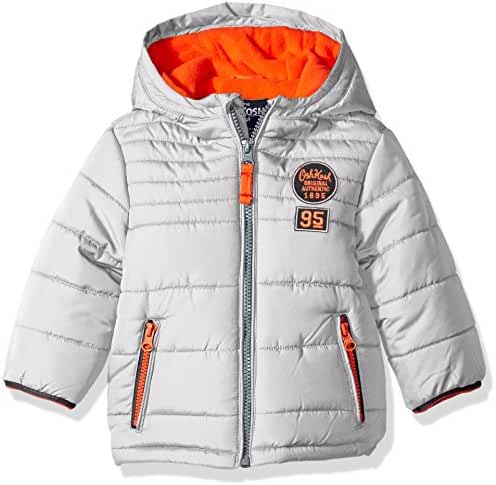 Osh Kosh Baby Boys' Infant Classic Heavyweight Solid Puffer Coat