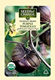 Seeds of Change S10760 Certified Organic Purple de Milpa Tomatillo