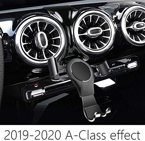 Lunqin Auto Handyhalterung Für 2019 2020 Mercedes Benz A Klasse A200 A250 Auto Zubehör Navigation Halterung Innenraum Dekoration Handy Halterung Elektronik