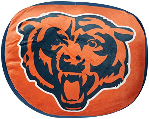 Northwest Nba Pillow (The Northwest Company NFL Chicago Bears Cloud Pillow, Blue, One Size)