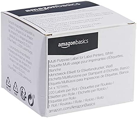 AmazonBasics - Etiquetas multiusos para impresoras de ...