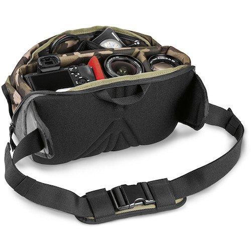 MB MS-Strap Green Manfrotto Lifestyle Street CSC Strap