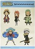 One Piece Group SD Sticker Set Anime