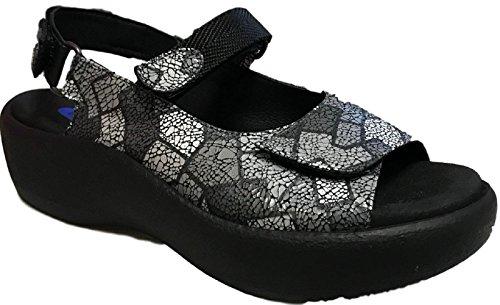 Wolky Komfort Sandaler Juvel Picasso Krasch Grå