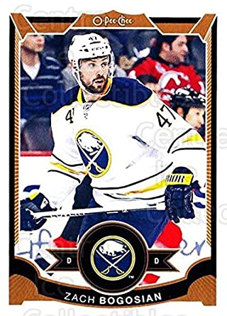 c44a0eadb Amazon.com  (CI) Zach Bogosian Hockey Card 2015-16 O-pee-chee (base ...