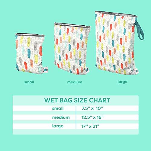 Medium Planet Wise Wet Bag Caribou Bloom