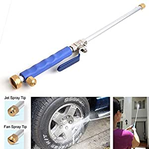 Car High Pressure Power Washer Spray Nozzle Water Hose Wand Attachment Patio