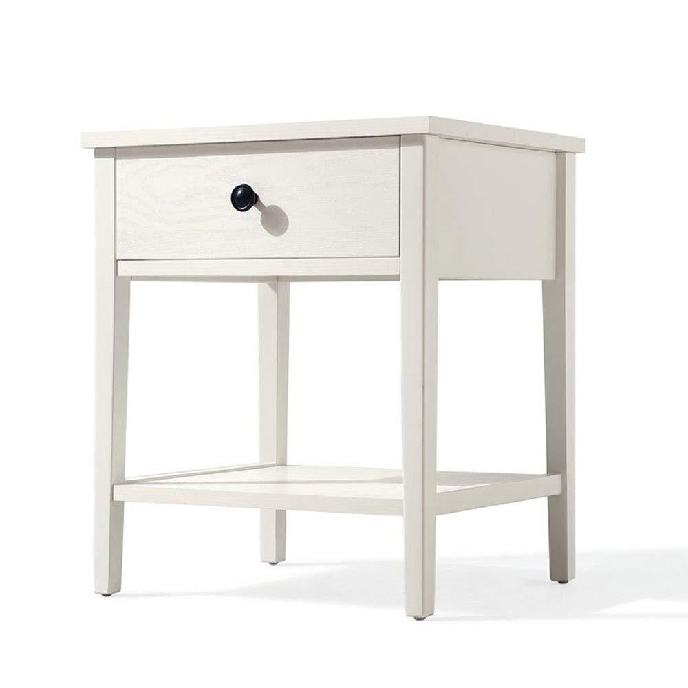 Nachttisch, Nachttisch Aus Holz, Nachttisch, Spinde Mit Großer Kapazität, Pflegeleicht, Schlafzimmer, Wohnzimmer, 1 Schublade Innendekoration