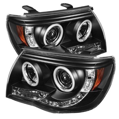 Spyder Auto Toyota Tacoma Black CCFL LED Projector Headlight Ccfl Led Projector Headlights