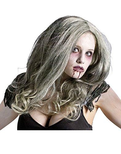 Zombie Queen Wig Costume Accessory]()