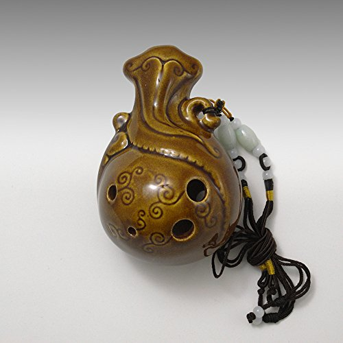 風雅陶笛 中国陶笛(土笛)オカリナ AC アルトC調 並行輸入