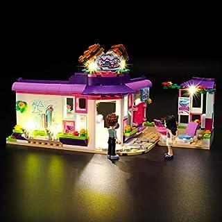 Juego de luces LIGHTAILING para el modelo de bloques de construcción (Friends Emma's Art Caf) - Kit de luces LED Compatible con Lego 41336 (NO incluido el modelo)