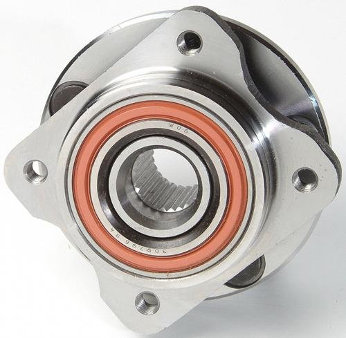 GSP 124075 Axle Bearing and Hub Assembly - Left or Right Front (Driver or Passenger Side) (Voyager Hub Front Plymouth)