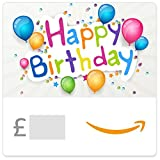 Happy Birthday (Coloured Balloons) -  Amazon.co.uk eGift Vouch