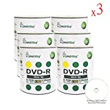 Smart Buy 1800 Pack DVD-R 4.7gb 16x White Top Blank Data Video Movie Record Disc, 1800 Disc 1800pk