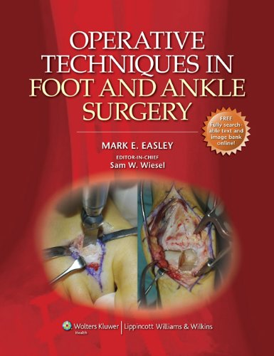 Operative Techniques in Foot and Ankle Surgery (Operative Techniques in Orthopaedic Surgery) Pdf