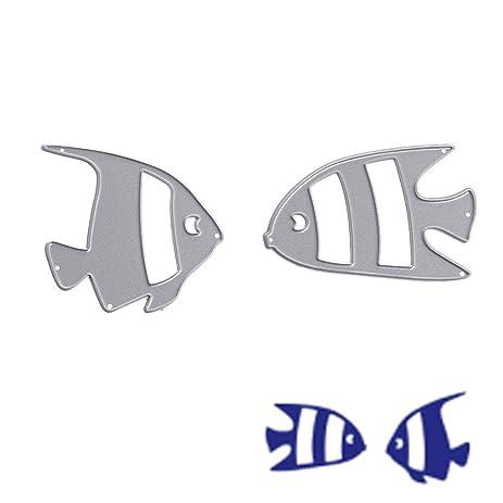 Amazon mimgo fish cutting dies stencils 3d finish wrok metal mimgo fish cutting dies stencils 3d finish wrok metal template diy tool maxwellsz