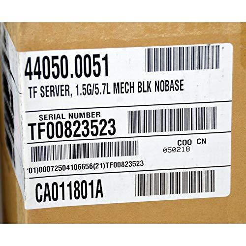 Bunn 44050.0051 TF 1.5 Gal Black ThermoFresh Coffee Server Dispenser New Open Box by Bunn (Image #4)