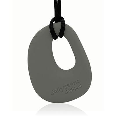 Jellystone Designs Organic Pendant, Stormy Grey : Baby