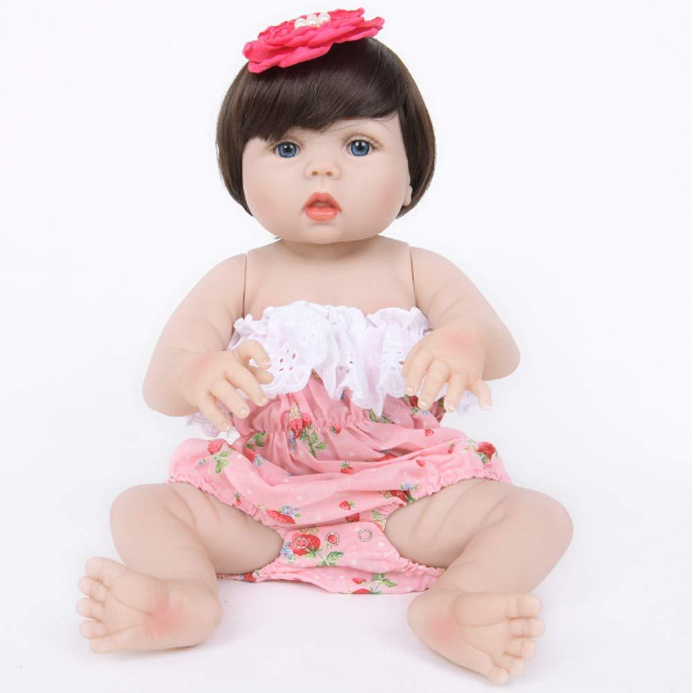 calidad fantástica Color1 55cm NACHEN NACHEN NACHEN Reborn muñeca 55 cm simulación bebé Realista Vinilo Silicona Grandes Ojos Lindos niños Regalos muñecas  Hay más marcas de productos de alta calidad.