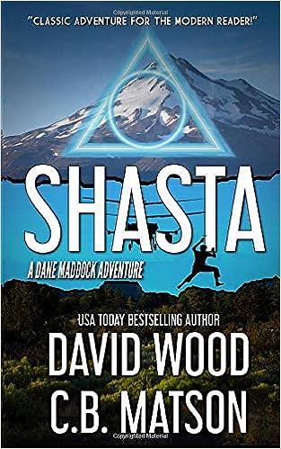 Amazon Com Shasta A Dane Maddock Adventure Dane Maddock Universe 9781950920099 Wood David Matson C B Books