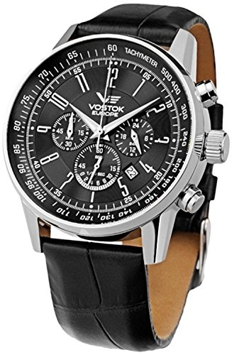 Vostok Europe Men's Watches OS22-5611131 - GAZ 14 Limousine Chrono