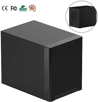 xue Inteligente de Doble Disco Duro de Red Caja de TV y Home Retail NAS Gigabit NAS de Almacenamiento en Red de Servidor Compatible con Windows/Mac/Android/iOS: Amazon.es: Electrónica