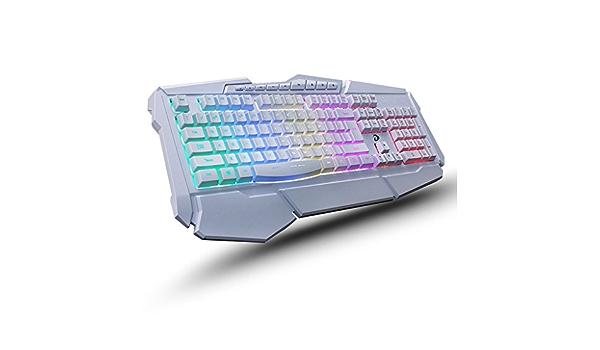Teclados para gamers Interfaz USB con cable Juegos de teclado ...